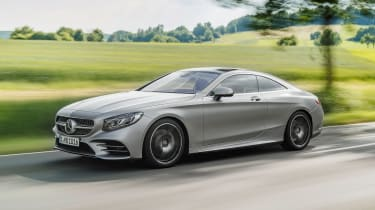 Mercedes S-Class Coupe - front action