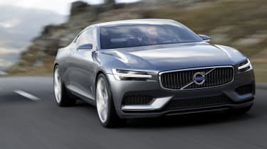 Volvo Concept Coupe action