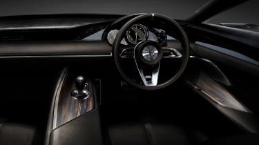 Mazda Vision Coupe concept - dash