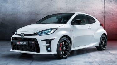 Toyota GR Yaris - front