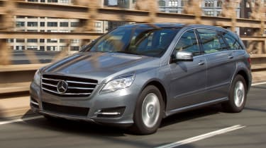 The R-Class has been designed to carry seven people in luxury.