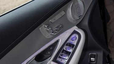 Mercedes GLC - door detail