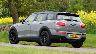 MINI Cooper Black Clubman - rear static