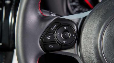 Subaru BRZ - steering wheel detail