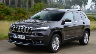 Jeep Cherokee front tracking
