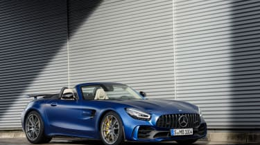 Mercedes-AMG GT R Roadster - front roof down