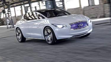 Infiniti Etherea front track