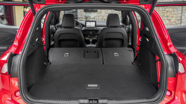Ford Focus Estate - boot seats down