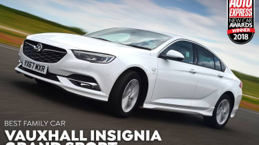 Vauxhall Insignia Grand Sport - Family of the Year 2018
