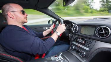 Mercedes SL Mille Miglia 417 - driving