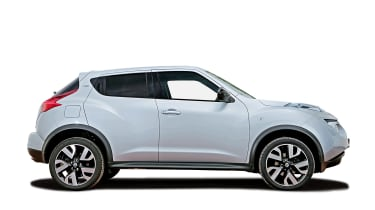 Used Nissan Juke review - side