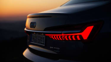Audi A6 - twilight rear lights