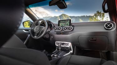 Mercedes X-Class - interior