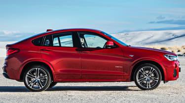 BMW X4 profile