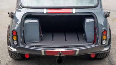 David Brown Automotive Mini Remastered Oselli Edition - boot