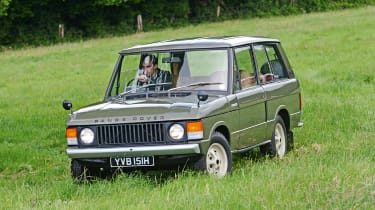 Old Range Rover Velar - action