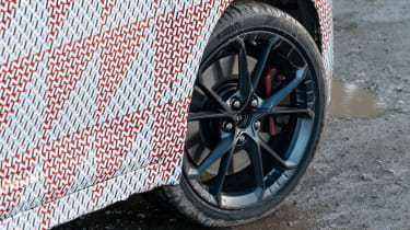 Hyundai Kona N prototype - wheel