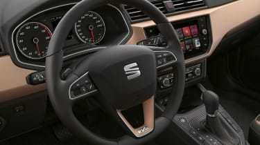 New SEAT Ibiza - steering wheel