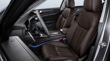 New Audi A6 - studio front seats