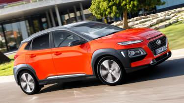Hyundai Kona diesel - side