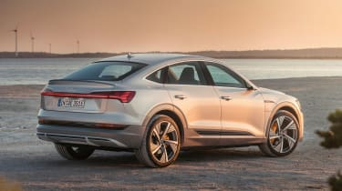Audi e-tron Sportback - rear/side