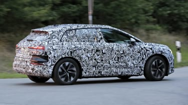 Audi Q4 e-tron - spyshot 7