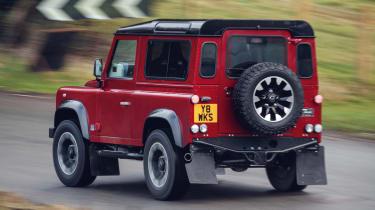 Land Rover Defender Works V8 - rear
