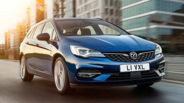 Vauxhall Astra Estate - front tracking