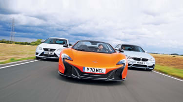 <strong>James Disdale, Road test editor&nbsp;</strong>  <b><em>Fast fun cars</em> &nbsp;</b>  <span>Our annual fast car shoot-out is a must-read for drivers seeking out the biggest thrills. In 2014 we named our top 100 performance