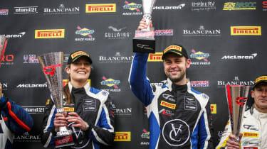 British GT 2018 - Oulton Park podium