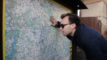Skoda Karoq road trip - map