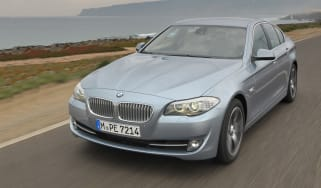 BMW ActiveHybrid 5 front tracking
