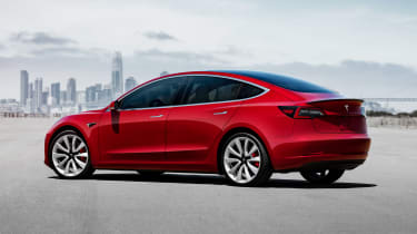 Tesla Model 3 Performance - rear static