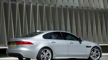 Jaguar XF R-Sport - rear static
