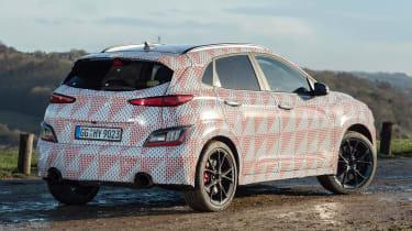 Hyundai Kona N prototype - rear static