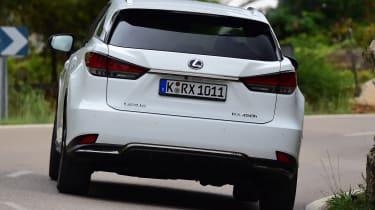 Lexus 450h F Sport - rear cornering