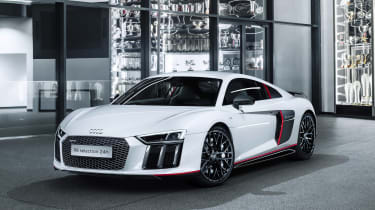 Audi R8 V10 Plus Selection 24h - front quarter