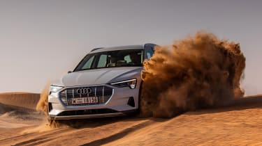 Audi e-tron - off-road