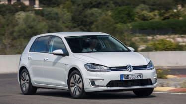Volkswagen e-Golf - front cornering