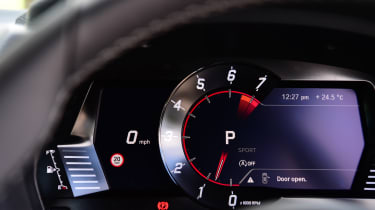 Toyota Supra -  dials
