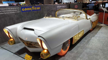 Golden Sahara II - front