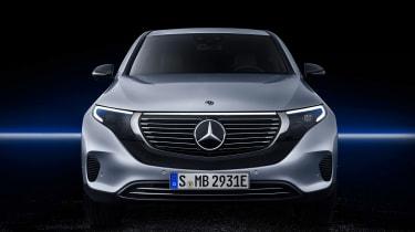 Mercedes EQC - full front studio