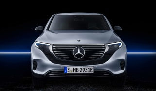 Mercedes EQC - full front studio