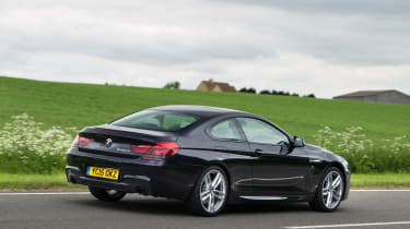 BMW 640d Coupe - rear tracking
