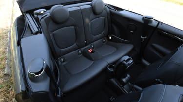 MINI Cooper S Convertible - back seats