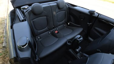 MINI Cooper S Convertible - back seats