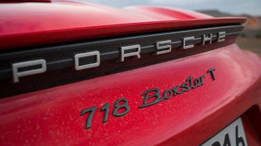 Porsche 718 Boxster T - rear badge