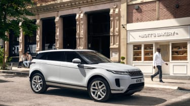 New Range Rover Evoque - white