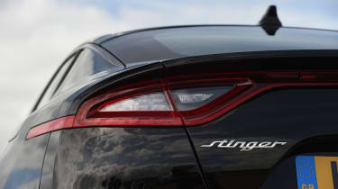 Kia Stinger - rear lights
