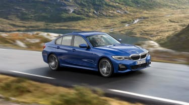 BMW 3 Series - blue side
